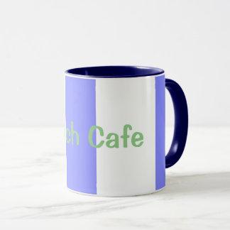 Beach-Cafe--Cabana-Stripes(c)Blueberry-White Mug