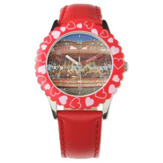 Beach Carousel Wrist Watch
