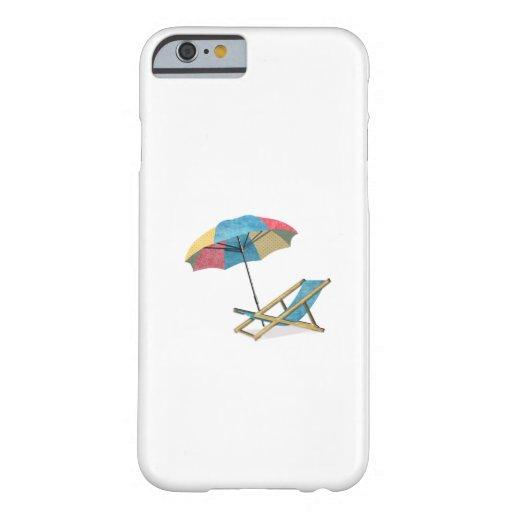 Beach Chair and Umbrella iPhone 6 Case
