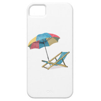 Beach Chair and Umbrella iPhone 5 Cases