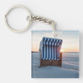 Beach chair key ring