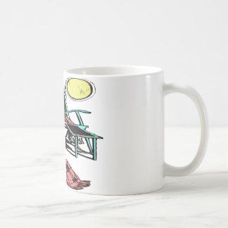 BEACH CHAIR COFFEE MUGS
