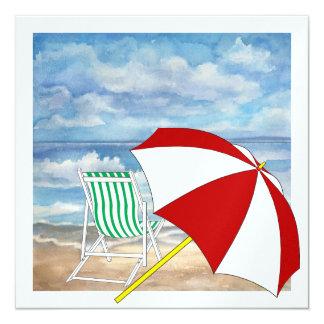 Beach Chair - SRF Personalized Invites