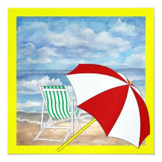Beach Chair - SRF Custom Invitation