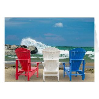 Beach Chairs Card
