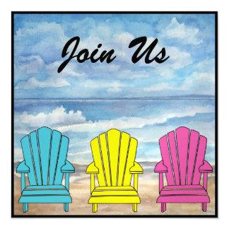 Beach Chairs - SRF Invitations