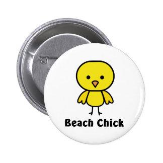 Beach Chick Pin