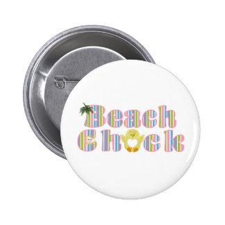 Beach Chick Pins