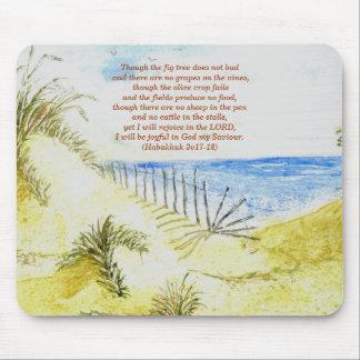 'Beach (Christian)' Mousepad