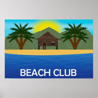 Beach Club poster