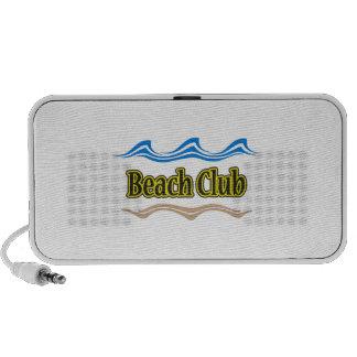 BEACH CLUB WAVES SAND TRAVELLING SPEAKERS