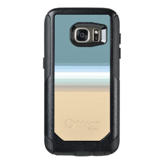 Beach Colors Light Brown/Sand/Beige/Turquoise/Blue OtterBox Samsung Galaxy S7 Case