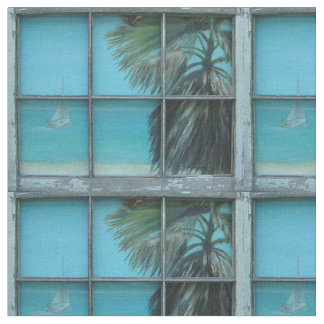 BEACH COTTAGE VIEW FABRIC