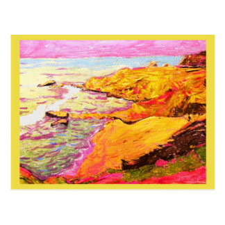 Beach Cove peace on earth Postcard