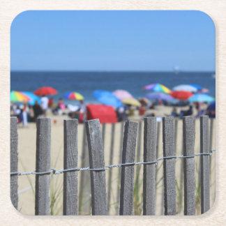 Beach Day Coaster Square Paper Coaster