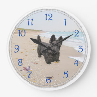 Beach Day Large Clock