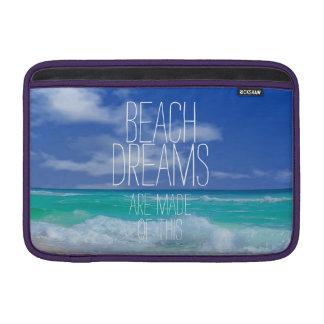 Beach Dreams Macbook Air Sleeve