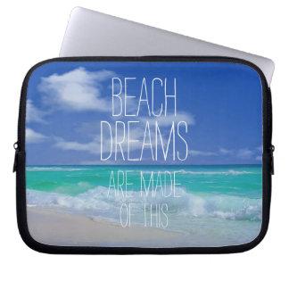 Beach Dreams Neoprene Laptop Sleeves