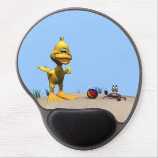 Beach Duck Gel Mousepad