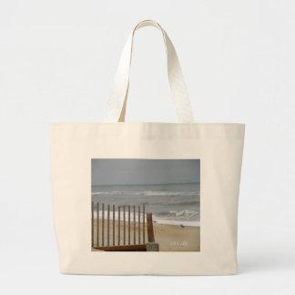 Beach Fence Gifts Jumbo Tote Bag