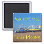 Beach Ferris Wheel Santa Monica, California Pier
