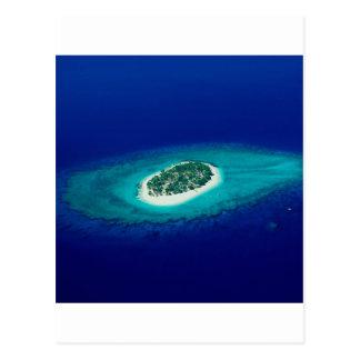 Beach Fiji Islands Postcard