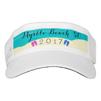 Beach Flip Flop Vacation Date Golf Sun Visor