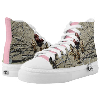BEACH FLOWER HIGH TOPS