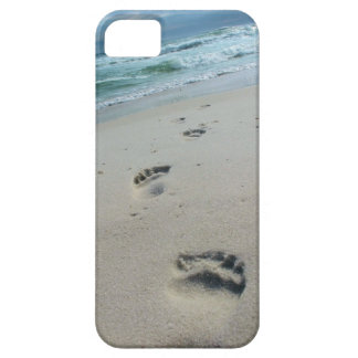 Beach Footprints Phone Case iPhone 5 Cases