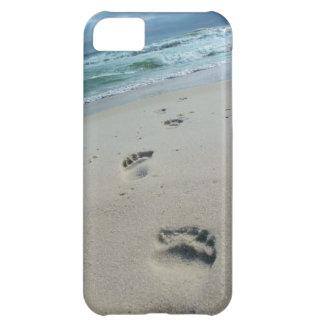 Beach Footprints Phone Case iPhone 5C Cover