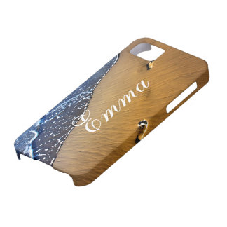 Beach Footsteps iPhone 5 Cases