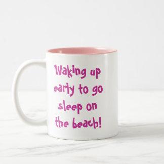 Beach Freaks Flip Flops Mugs