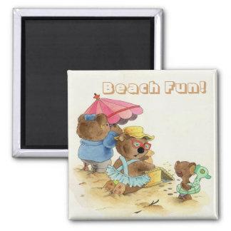 Beach Fun - Magnet
