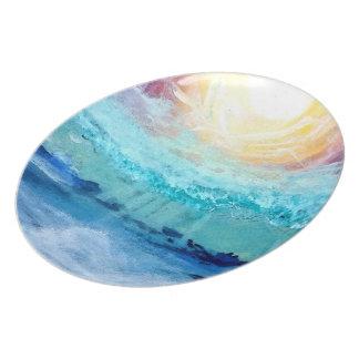 Beach Fun - Melamine Dinner Plate