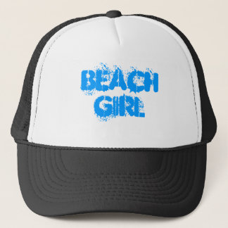 BEACH GIRL TRUCKER HAT