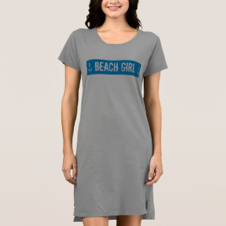 BEACH GIRL TSHIRT DRESS