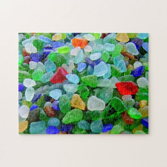 Beach Glass Mural Jigsaw Puzzle