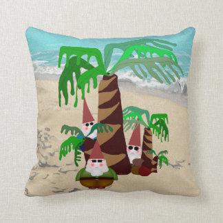 Beach Gnomes Cushion