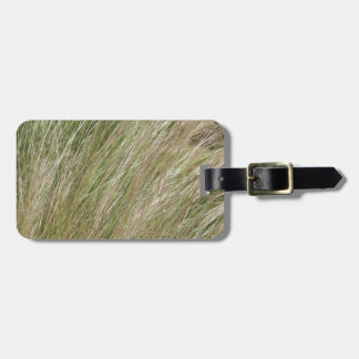 Beach Grass Luggage Tag