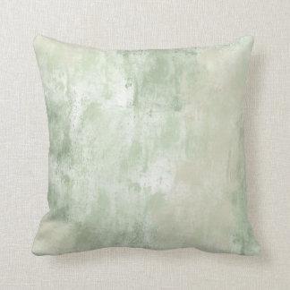 Beach Green Cream Sand Throw Cushion