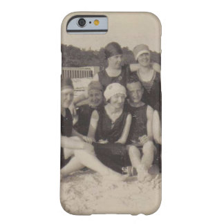 Beach Group 1920 Vintage Photograph Barely There iPhone 6 Case