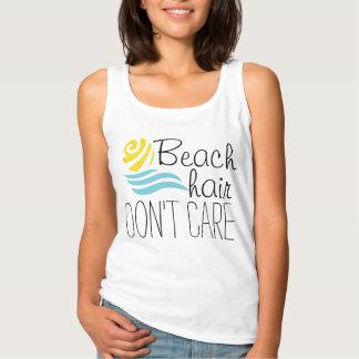 Beach hair don't care tshirt