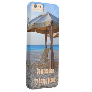 Beach Happy Place Barely There iPhone 6 Plus Case