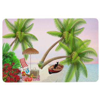 Beach Holiday Style Floor Mat