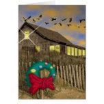 Beach House Christmas Card-V