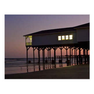 Beach House Galveston 2013 Calendar Postcard