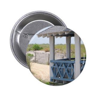 beach hut button