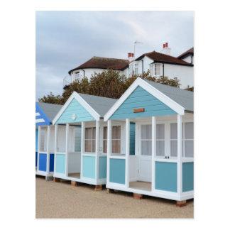 Beach Huts At Southwold Postcard