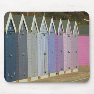 Beach huts mousemat