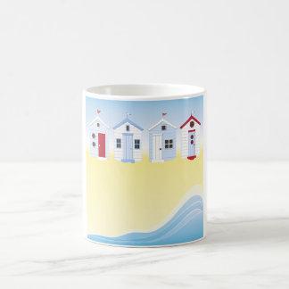Beach Huts Mug